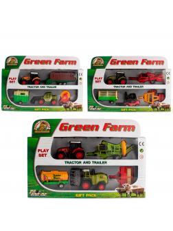 Набор машинок Green Farm «Фермер» 415PT / Микс