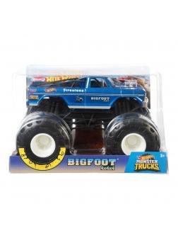 Машинка Hot Wheels Monster Tracks 1:24 «Бигфут»