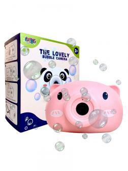 Генератор мыльных пузырей The Lovely Bubble Camera «Свинка Пепи» свет и звук / 858-5