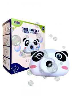 Генератор мыльных пузырей The Lovely Bubble Camera «Панда» свет и звук / 858-7