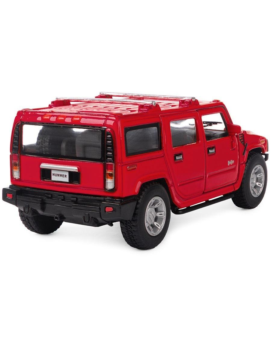 Металлическая машинка Kinsmart 1:40 «2008 Hummer H2 SUV» KT5337D инерционная / Микс