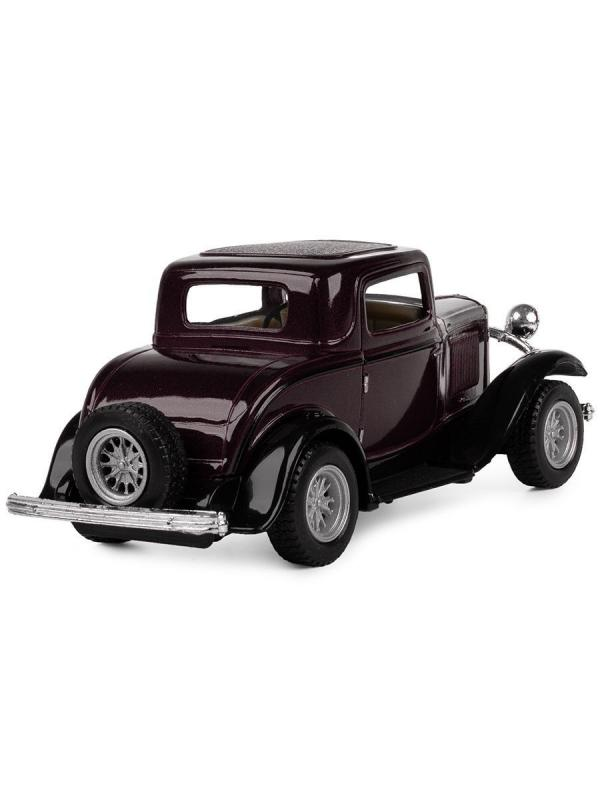 Машинка металлическая Kinsmart 1:34 «1932 Ford 3-Window Coupe» KT5332D инерционная / Микс