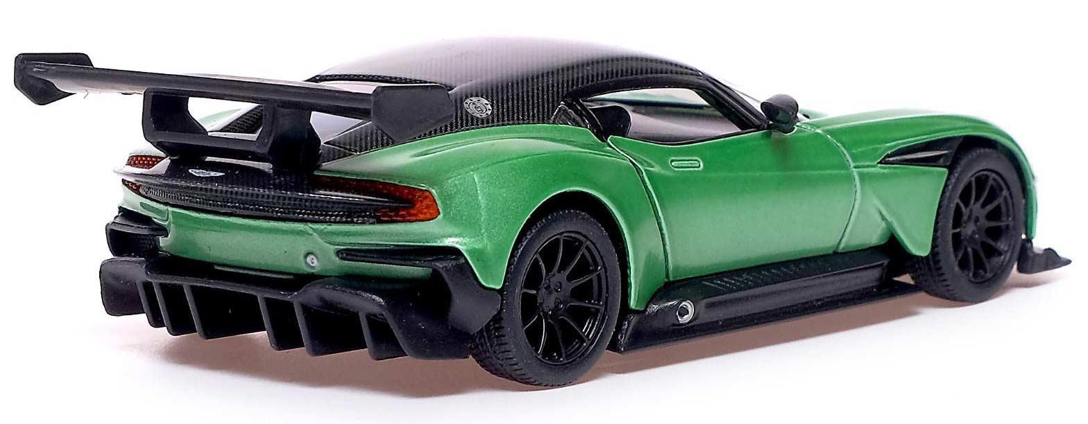 Металлическая машинка Kinsmart 1:38 «Aston Martin Vulcan» KT5407W, инерционная в коробке / Микс