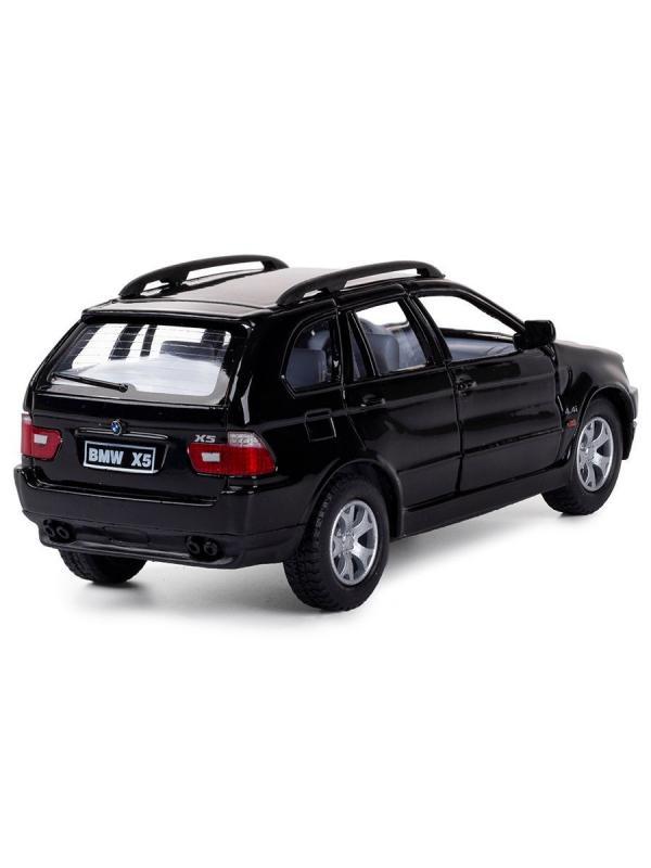 Металлическая машинка Kinsmart 1:36 «BMW X5» KT5020W, инерционная в коробке / Микс