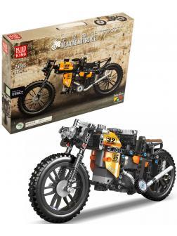 Конструктор Mould King «Быстрый радиоуправляемый мотоцикл - Он действительно работает и выдерживает! - 30 км/ч» 23005 (MOC 17249) / 383 детали