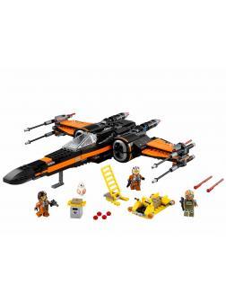 Конструктор KING «Истребитель X-Wing «По» 81006 (Star Wars 75102) / 748 деталей