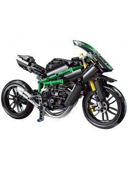 Конструктор Mould King «Kawasaki Ninja H2R» 23002 (MOC 32005) / 639 деталей