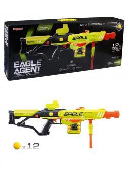 Бластер с мягкими шариками Eagle Agent 390