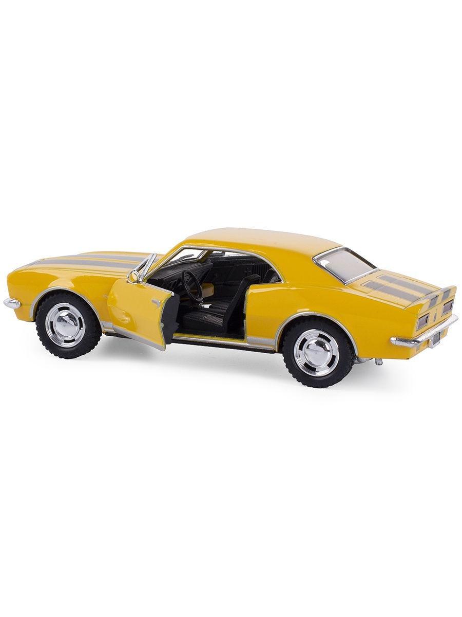 Металлическая машинка Kinsmart 1:37 «1967 Chevrolet Camaro Z/28» KT5341W, инерционная в коробке / Микс