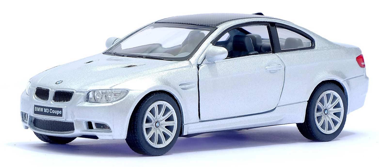 Металлическая машинка Kinsmart 1:36 «BMW M3 Coupe» KT5348D, инерционная / Микс