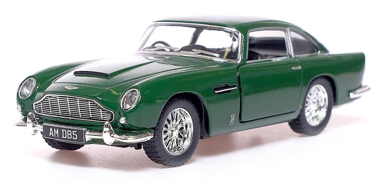 Металлическая машинка Kinsmart 1:38 «Aston Martin DB5» KT5406D, инерционная / Микс