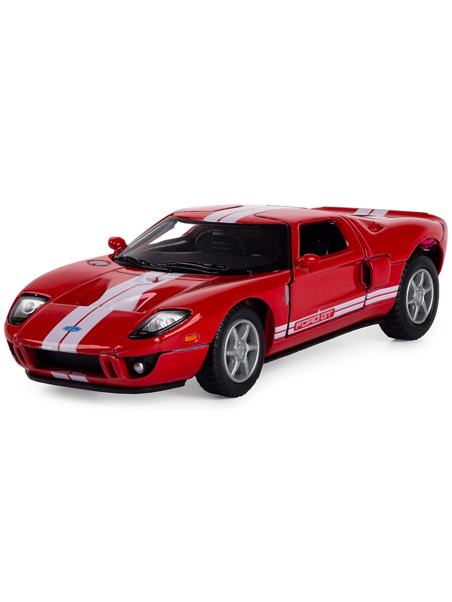 Металлическая машинка Kinsmart 1:36 «2006 Ford GT» KT5092D, инерционная / Микс