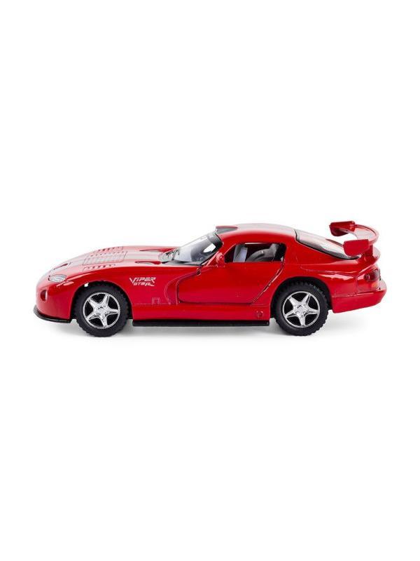 Металлическая машинка Kinsmart 1:36 «Dodge Viper GTS-R» KT5039W, инерционная в коробке / Микс