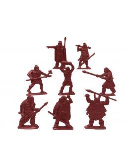 Солдатики Воины и Битвы «Первые люди: Неандертальцы» 1:32