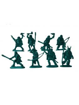 Солдатики Воины и Битвы «Первые люди: Кроманьонцы» 1:32