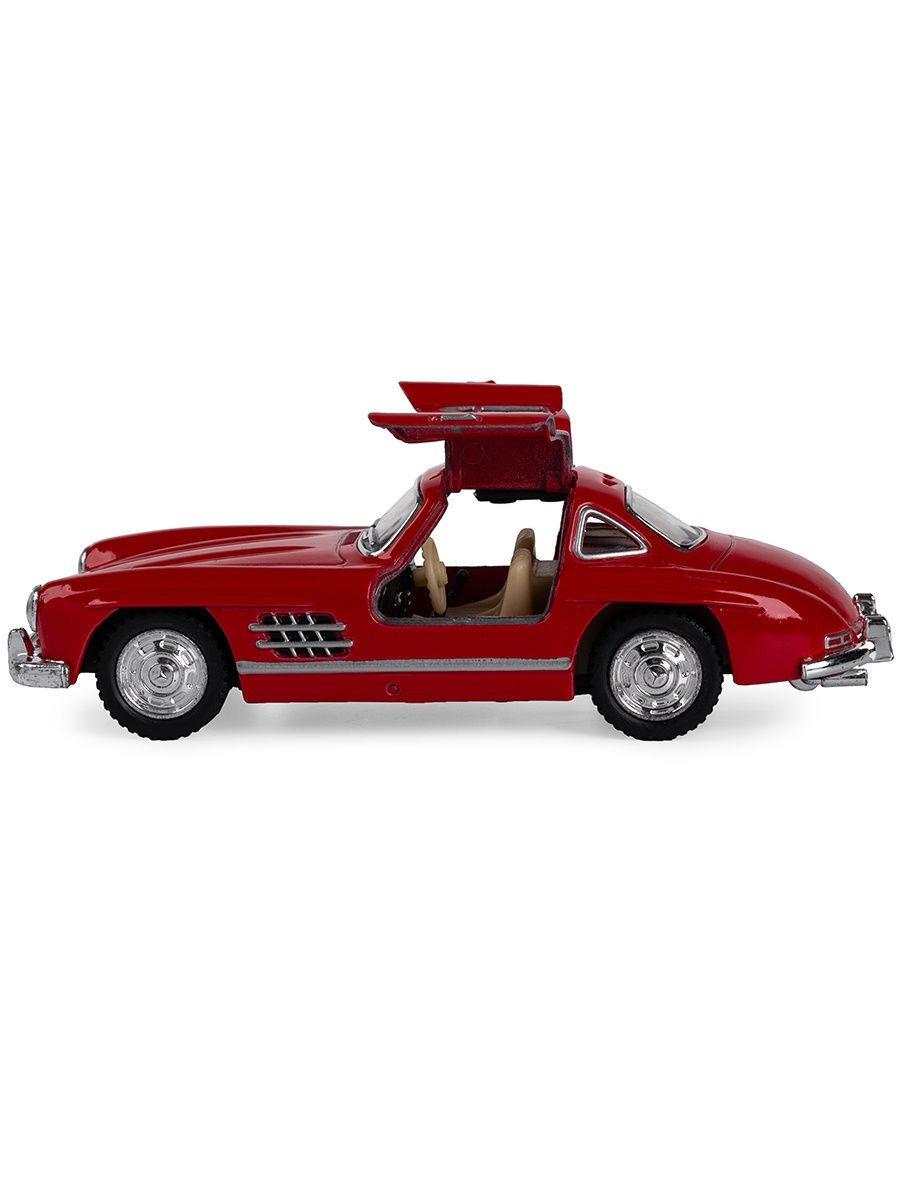 Металлическая машинка Kinsmart 1:36 «1954 Mercedes-Benz 300SL» KT5346W, инерционная в коробке  / Микс