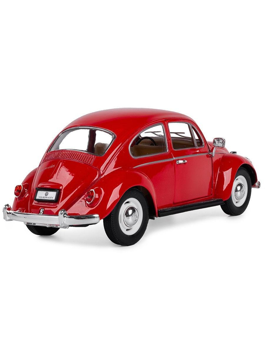 Металлическая машинка Kinsmart 1:24 «1967 Volkswagen Classical Beetle» KT7002D инерционная / Микс