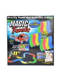 Светящийся гибкий трек «Magic Tracks» FYD170205-B / 220 деталей