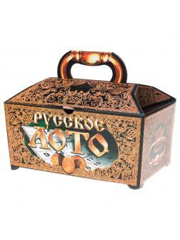 Подарочное деревянное лото Десятое Королевство «Русское лото» 00142ДК