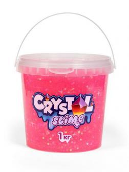 Слайм Slime Crystal розовый, 1 кг