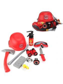 Игровой набор ABtoys Важная работа Пожарный с каской и аксессуарами