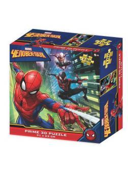 Пазл Prime 3D Super Человек-паук сюжет 2, 100 элементов