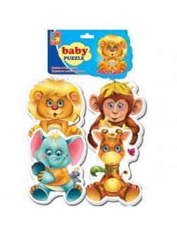 Пазлы мягкие Baby puzzle &