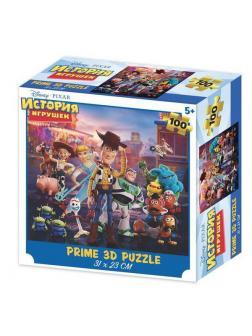 Пазл Prime 3D История игрушек сюжет 2, 100 элементов