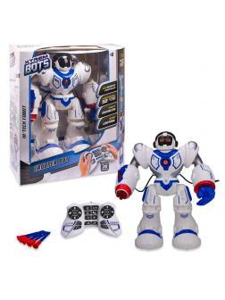 Робот XTREM BOTS Штурмовик световые и звуковые эффекты 20 функций