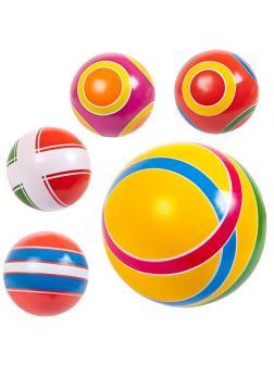 Мяч Джампа грунтованный окрашенный вручную диаметр 125 мм