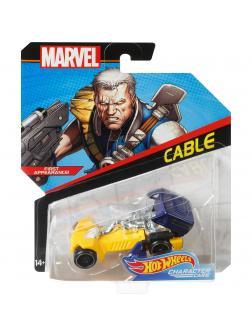 Машинка Hot Wheels Герои Marvel «Кейбл» FLG55