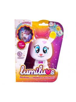 Ночник LUMILUVS Кролик Pearl (белый)