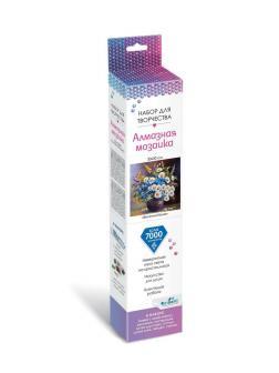 Набор для творчества ORIGAMI Алмазные узоры Голландский натюрморт Весенний букет 30*30см