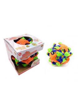 Мяч ABtoys пластмассовый раскрывающийся в полете