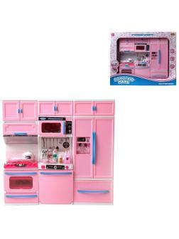 Помогаю Маме. Кухонный гарнитур в наборе с аксессуарами, (пластик)