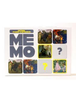 Настольная игра Десятое королевство МЕМО Картины русских художников 50 карточек