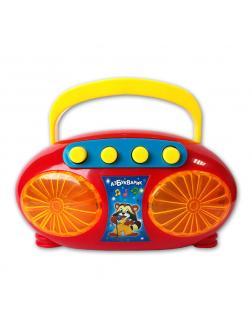Электронная музыкальная игрушка «Магнитофончик Диско-хит»  / красно-жёлтый