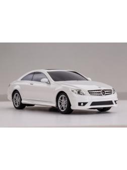 Машинка на радиоуправлении RASTAR Mercedes CL63 AMG, цвет белый 40MHZ, 1:24