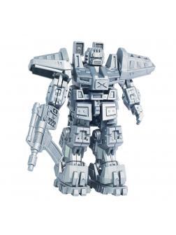 Конструктор Русский Стиль. Игровая модель «Боевые роботы: Астрогладиатор» 00576 / 43 детали