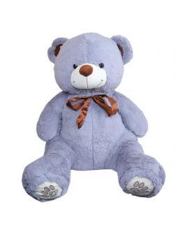 Мягкая игрушка Медведь плюшевый серый 80 см