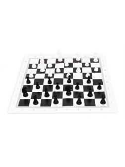 Настольная игра Рыжий кот Шахматы настольные классические + поле 28,5х28,5 см