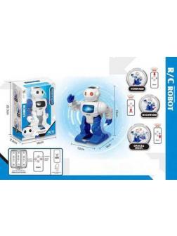 Робот на радиоуправлении JUNFA световые и звуковые эффекты, 16х10х22 см