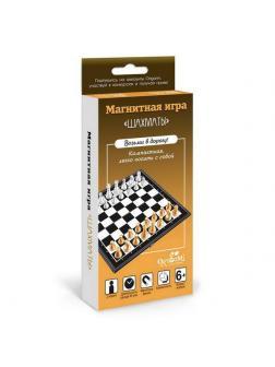 Настольная игра ORIGAMI Магнитная Шахматы. 33 предмета