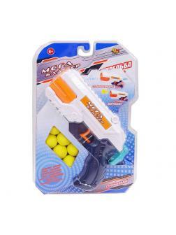 Бластер 2 в 1 стреляет водой или мягкими шариками 6 шт PT-01203 / ABtoys