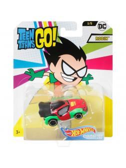 Машинка Hot Wheels Teen Titans Go «Робин» FLJ10
