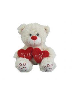 Медведь белый с сердцем &