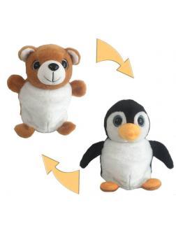 Мягкая игрушка Перевертыши «Пингвин / Медведь» M5031