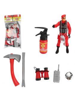 Игровой набор ABtoys Важная работа Пожарный с аксессуарами