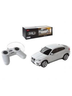 Машинка на радиоуправлении RASTAR BMW X6, цвет белый 40MHZ, 1:24