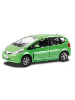 Машинка металлическая Uni-Fortune RMZ City 1:32 Honda Jazz, инерционная, зеленая, 12,7 x 4,9 x 4,1см